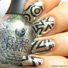 Pueen Cosmetics 24B Stamping Buffet Collection