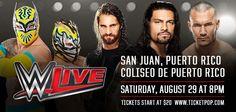 WWE Live @ Coliseo de Puerto Rico, Hato Rey #sondeaquipr #wwelive #wwe #coliseopr #choliseo #hatorey #sanjuan