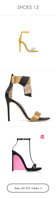 """""""SHOES 12"""" by donnatellmeno ❤ liked on Polyvore featuring shoes, black shoes, high heeled footwear, lace up high heel shoes, high heel shoes, black lace up shoes, sandals, black, black high heel sandals and ankle wrap sandals"""