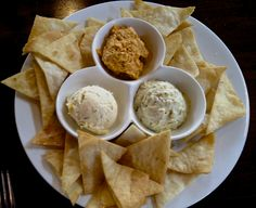 Dip Trio at Restaurant Fire at Gulf Place in South Walton (Fla.) Features Apricot-Habnero, Pimento Cheese and Olive Tapenade. #southwalton #flatravel #setravel