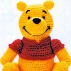 Amigurumi Winnie Pooh Patron Gratis : Winnie the pooh, Cherries and Patterns on Pinterest