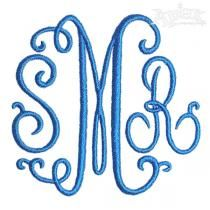 Suzanne Curlz Embroidery Font