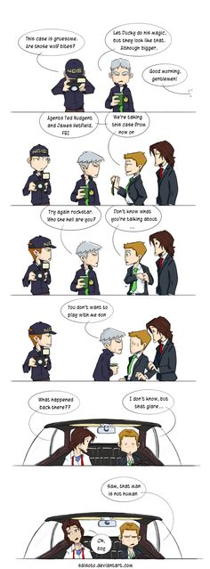 CrossOver SN NCIS by Saisoto.deviantart.com on @deviantART. OMG this crossover needs to happen lol