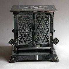 """kittyinva: """"Kittyinva: 1920′s toaster from Art Deco, FB. """""""