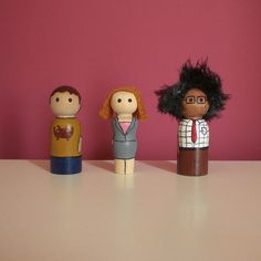 The IT Crowd peg people | Flickr - Photo Sharing!