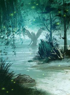 Swamp Angel by Dani Jones danijones.com