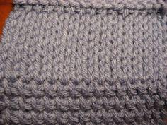 tunisian crochet afghans | Tunisian Crochet - Stockinette Stitch Sample