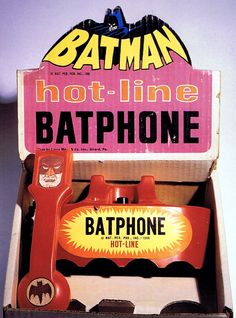 To the Batphone! It's interesting how the notion of secure communication was envisioned in the fictional series in the 1960s, and how the idea - and the term! - are still used today. See Wikipedia entry for more info: http://en.wikipedia.org/wiki/Bat_phone.