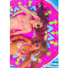 【mapink___】さんのInstagramをピンしています。 《⛴船の上での1枚 やっぱりオセロすぎる2人。。笑 この#ラウンドマット かわいーなあやのちゃんが持ってきてくれたやつ❣️✨ .  #フィリピン#Philippine#セブ島#cebu#パンダノン島#ヒルトゥガン島#pandanon#ナルスアン島#クルージング#アイランドホッピング#swimwear#genic_mag#女子旅#タビジョ#水着#船#cruising#girls#ビキニ#Bikini#海#日焼け#バンドゥ#ミラサン#おそろい#オセロ#小麦肌#美白#セルタン》