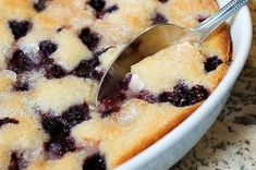 This is, in my opinion, the best blackberry cobbler. Super easy. I've made this at least 10 times since I found  it. Thanks P-Dub!