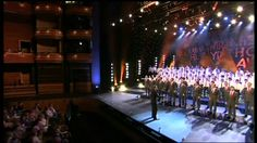 Only Boys Aloud Sosban Fach - the first public performance