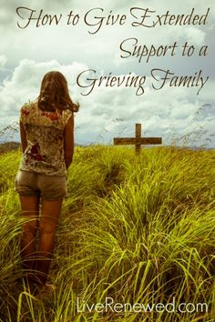 Do you know a family that is grieving as we head into the holiday season? Here's some idea for providing extended support to a grieving family.