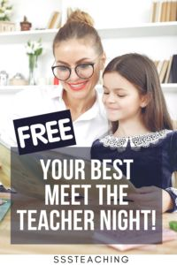Get your hands on FREE Meet the Teacher Templates for your classroom