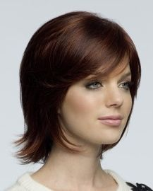 Victoria Monofilament Ladies Wig By Amore Designer Wigs. A trend setting collar length style with flicks and textured edges. Choose from fabulous colours and enjoy a lasting comfort from the mono top construction of this piece. Wig Hairstyles, Straight Hairstyles, Haircuts, Monofilament Wigs, High Quality Wigs, Straight Wigs, Wig Making, Short Wigs, Womens Wigs