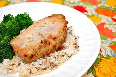 Greek Rubbed Pork Chops by Joelen of What's Cookin, Chicago