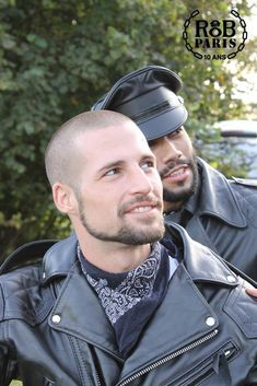 """leatherczboots: """" I also like other sex in leather moto to go with sexy """" Leather Fashion, Leather Men, Leather Jackets, Men's Fashion, Slick Hairstyles, Sexy Beard, Engineer Boots, Cute Gay Couples, Haircuts For Men"""