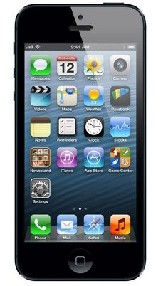 Apple iPhone 5 Schwarz 16GB Smartphone (Zertifiziert und Generalüberholt) EUR 195,00