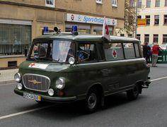ddr barkas | Barkas B 1000 DRK Kreisverband. Zusehn beim Historischer ...