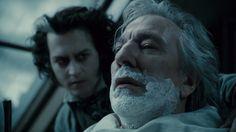 Sweeney Todd Blu-ray Johnny Depp Helena Bonham Carter Tim Burton