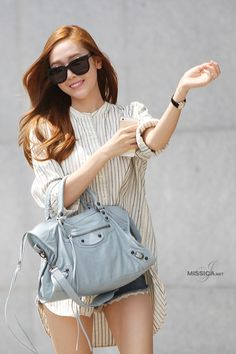 never almost had you : Jessica Jung Korean Street Fashion, Korea Fashion, Kpop Fashion, Asian Fashion, Womens Fashion, Jessica & Krystal, Krystal Jung, Girls Generation Jessica, Jessica Jung Fashion