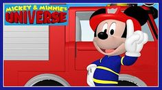 Mickey & Minnie's Universe - Mickey Mouse Clubhouse Fire Truck Game - Disney Junior Games For Kids Truck Games For Kids, Fire Truck Games, Fire Trucks, Games To Play, Minnie Mouse Videos, English Games, Mickey Mouse Clubhouse, Disney Junior, Kids Playing