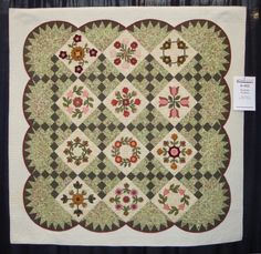 FABRIC THERAPY: 2014 AQS Chattanooga Quilt Show, Part Five...