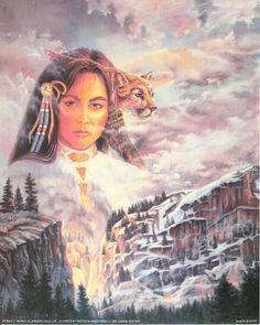 Native American Indian Princess and Mountain Lion Fine Art Print Poster (16×20) | bikeraa.com  http://bikeraa.com/native-american-indian-princess-and-mountain-lion-fine-art-print-poster-16x20/