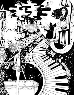 Master and Margarita, Stairs by ~RaShelli on deviantART