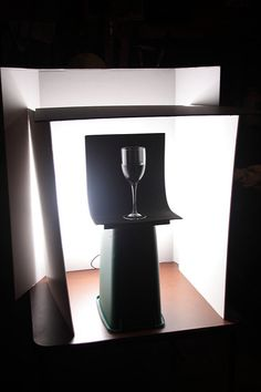 "Glass Setup Shot #1 | Setup shot #1 for ""Flower, Wine, and G… 