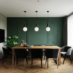 Jewel Tone Colors in a Contemporary Two-Bedroom Apartment [With Floor Plan]