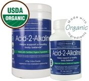 USDA Certified Organic Acid-2-Alkaline Supplement - The original whole food alkalizing formula since 1995 (they started it all).