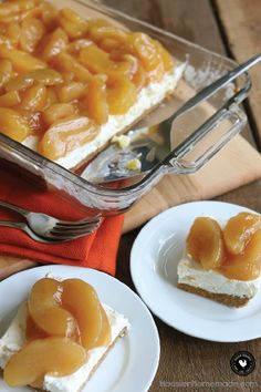 This simple, 3-layer Caramel Apple Cream Cheese Dessert is deliciously fruity. Throw this wonderfully easy recipe together in just 15 minutes for a light treat that will satisfying any sweet craving.