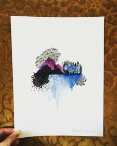 Originalmaleri av Thea Paulsrud fra www.bythea.no.com