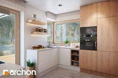 Znalezione obrazy dla zapytania dom z naroznym oknem w kuchni