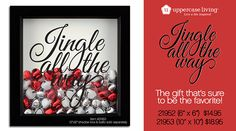 Jingle All the Way from #UppercaseLiving Grab a shadow box & bells to add - one for each  year, a red one for new family members, however you want to commemorate your holidays together.