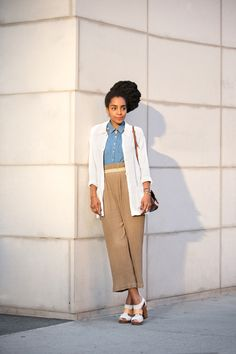 Cipriana Quann shows off her unexpected summer layers. Tomboy Fashion, Fashion Moda, Star Fashion, Quann Sisters, Cipriana Quann, Look Here, Brown Girl, Haute Couture Fashion, Mom Style