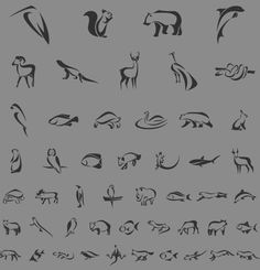 Pictograms by Fontfabric , via Behance