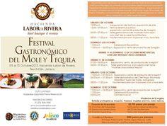 Festival Gastronómico del Mole y el Tequila / Teuchitlán, #Jalisco / 5-13 Octubre 2013