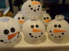 Snowman friends.