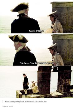 That comment!!!!!! Pirates of the Caribbean tumblr post