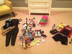 This handy triathlon race day check list includes everything you need to pack for a successful race day. It can be scaled up or down depending on race distance.