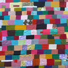 African Indian patchwork – Sally Campbell, Handmade Textiles