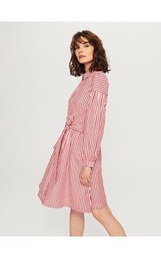 Sukienka w paski, Sukienki, kombinezony, wielobarwn, RESERVED