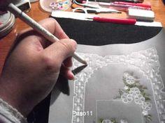 Tarjeta de saludo en papel vegetal paso a paso (proyecto Nº1). Link download: http://www.getlinkyoutube.com/watch?v=uwYDExN0yoY
