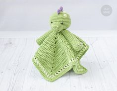 Instant download. This listing is only a PDF PATTERN, not a finished product. Din the Dino Lovey is a plush toy and security blanket all in one! He will become a good friend for your baby. The pattern is very easy to follow: it contains detailed text instructions and 55 photos on 14 pages.