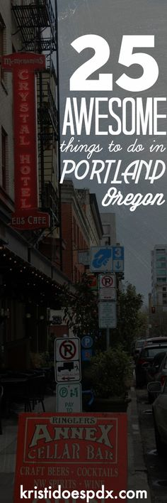 Portland is more than Powell's Books and Voodoo Donuts.  Here are some other awesome things to check out.