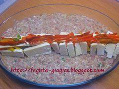 Ρολό κιμά γεμιστό με πιπεριές και κεφαλοτύρι - από «Τα φαγητά της γιαγιάς» Food For Thought, Beef Recipes, Meat Recipes