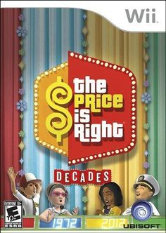 Price Is Right Decades - Nintendo Wii - websites discount Video Games Xbox, Wii Games, Trivia Games, News Games, Games For Kids, Games To Play, Xbox One, Price Is Right, Game Sales