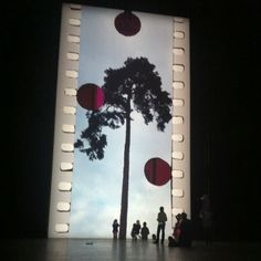 The recent installation in the Turbine Hall. Big Tree little people. Turbine Hall, Big Tree, Little People, Wedding Venues, Spaces, Wedding Reception Venues, Wedding Places, Short People, Petty People