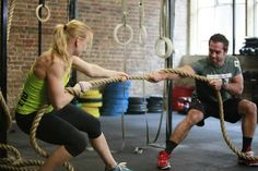 rope pull. Annie. Froning